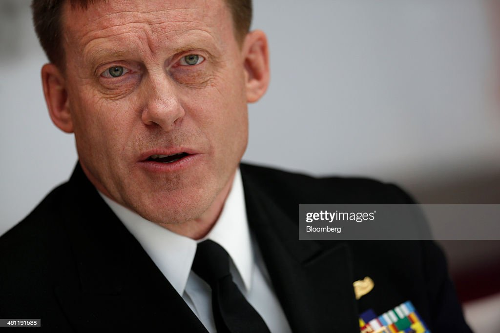 U.S. National Security Agency Director Admiral Mike Rogers Interview : News Photo