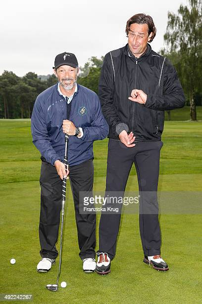 Michael Roll and Christian Schenk attend the 'Camp David Eagles Hauptstadt Golf Cup' on May 19 2014 in Berlin Germany