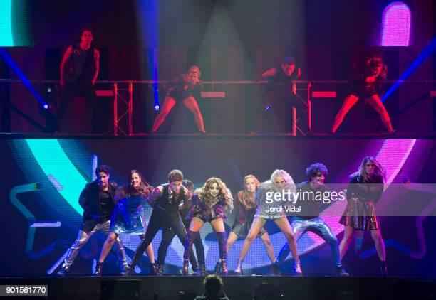 Michael Ronda Marlena Ratner Ruggiero Pasquarelli Karol Sevilla Ana Jara Valentina Zenere Jorge Lopez Chiara Parravicini perform on stage during...