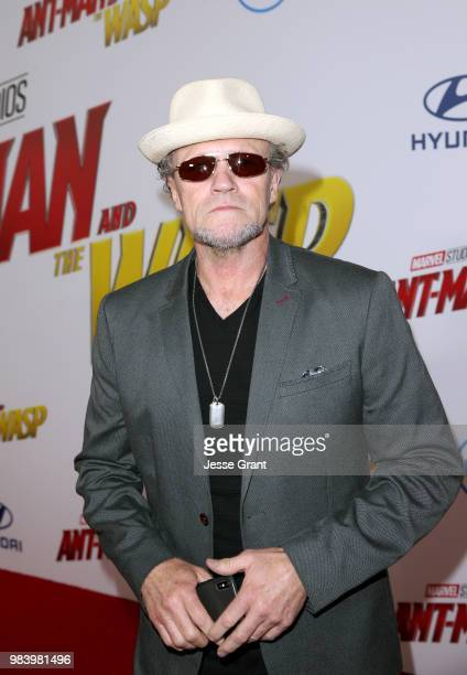 Michael Rooker attends the Los Angeles Global Premiere for Marvel Studios' 'AntMan And The Wasp' at the El Capitan Theatre on June 25 2018 in...