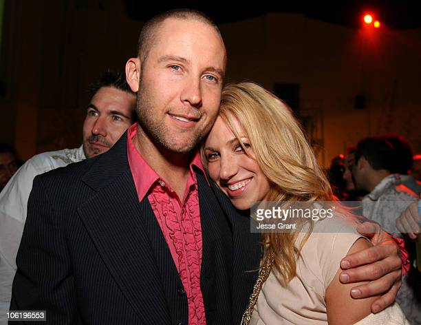 Michael Rosenbaum and Deborah Gibson during 'Kickin' It Old Skool' Los Angeles Premiere AfterParty Inside at The Music Box in Los Angeles California...