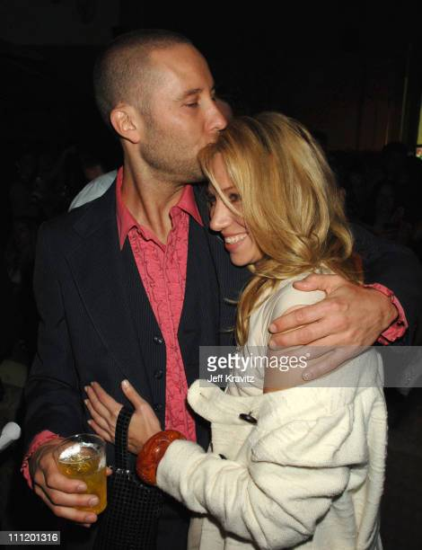 Michael Rosenbaum and Deborah Gibson during 'Kickin' It Old Skool' Los Angeles Premiere After Party at Music Box in Los Angeles California United...