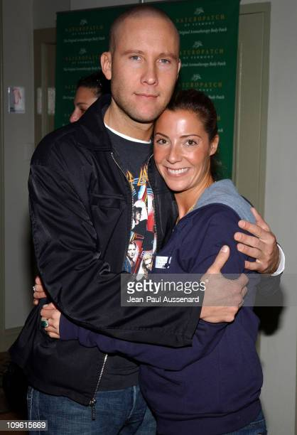 Michael Rosenbaum and Melissa Lemer during Silver Spoon Hollywood Buffet Day 2 at Private Residence in Beverly Hills California United States