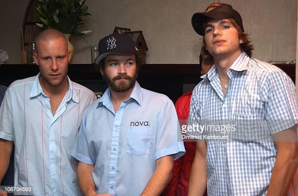 Michael Rosenbaum Danny Masterson and Ashton Kutcher