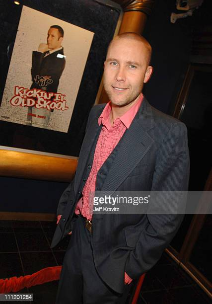 Michael Rosenbaum during 'Kickin' It Old Skool' Los Angeles Premiere After Party at Music Box in Los Angeles California United States