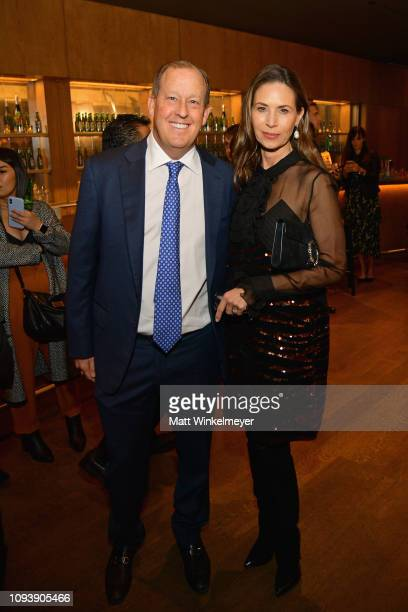 Michael Rosenfeld and Patty Rosenfeld attend The Hollywood Reporter's 7th Annual Nominees Night presented by MercedesBenz Century Plaza Residences...