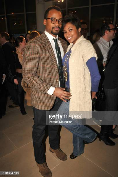 Michael Ross and Alicia Quarles attend 3rd Annual BEST NEW MENSWEAR DESIGNERS IN AMERICA 2010 Hosted by GQ EditorInChief JIM NELSON at IAC Building...