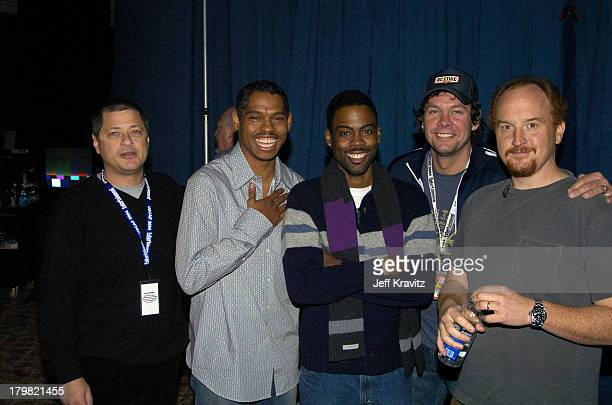 Michael Rotenberg Lance Crouther Chris Rock and Louis CK *Exclusive*