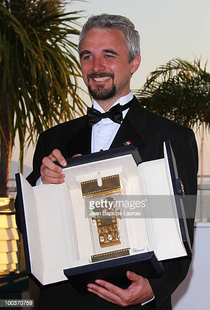 Michael Rowe attends the Palme d'Or Award Ceremony Photo Call held at the Palais des Festivals during the 63rd Annual International Cannes Film...