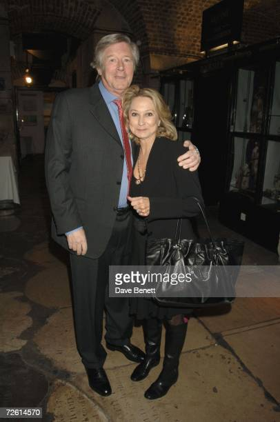 Michael Rudman and Felicity Kendal arrive at Felicity Kendals opening night of Amy's View at the Garrick Theatre on November 20 2006 in London England