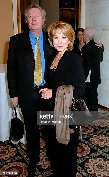 Michael Rudman with Felicity Kendal attend the Evening Standard Theatre Awards the annual theatrical awards hosted by the London newspaper at The...
