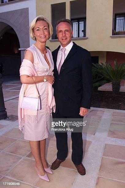 Michael Rummenigge und Ehefrau Carolin Bei Dorint Gala Auf Mallorca