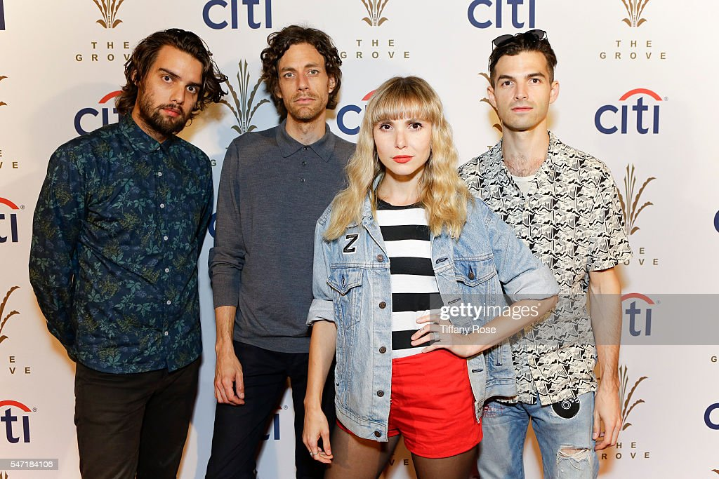 Citi Presents Atlas Genius At The Grove's 2016 Summer Concert Series