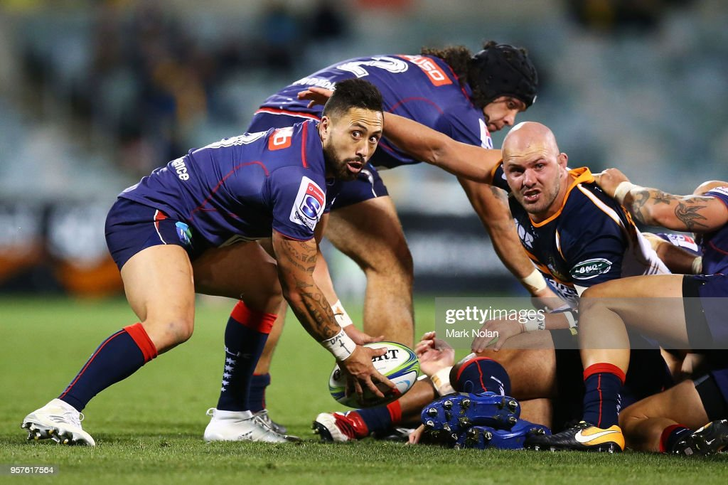 Super Rugby Rd 12 - Brumbies v Rebels : News Photo