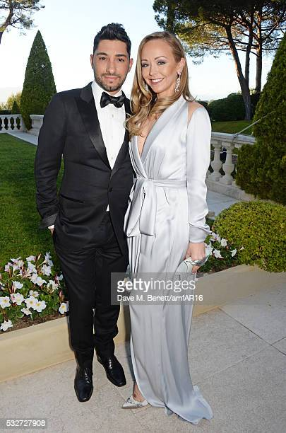 Michael Russo and Tamara Ralph attend amfAR's 23rd Cinema Against AIDS Gala at Hotel du CapEdenRoc on May 19 2016 in Cap d'Antibes France