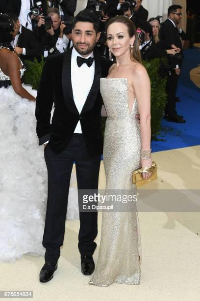 Michael Russo and Tamara Ralph attend the 'Rei Kawakubo/Comme des Garcons Art Of The InBetween' Costume Institute Gala at Metropolitan Museum of Art...