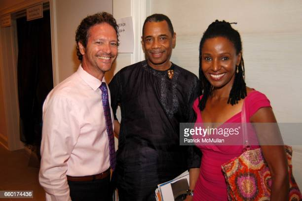 Michael Ruvo Edward Robinson and B Smith attend The 2009 Hampton Designer Showhouse at Private Residence on July 25 2009 in Southampton New York