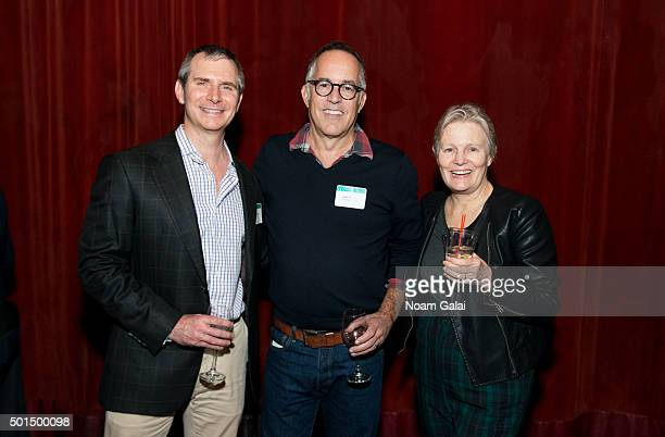 Michael Ryan John Cooper and Mary Harron attend Sundance Institute's Director's Orientation and Film Team reception New York at The Park on December...