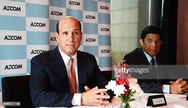 Michael S Burke Chairman and Chief Executive Officer AECOM and Jagdish Salgaonkar Programme Director and Regional Managing Director of AECOM...