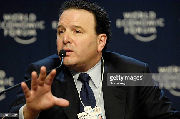 Michael S Klein chairman and cochief executive officer of Markets and Banking at Citigroup Inc speaks during a session entitled 'If America Sneezes...