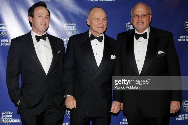 Michael S Lorber Commissioner Raymond Kelly and Howard Lorber attend NEW YORK CITY POLICE FOUNDATION 32nd Annual Gala at Waldorf on March 16 2010