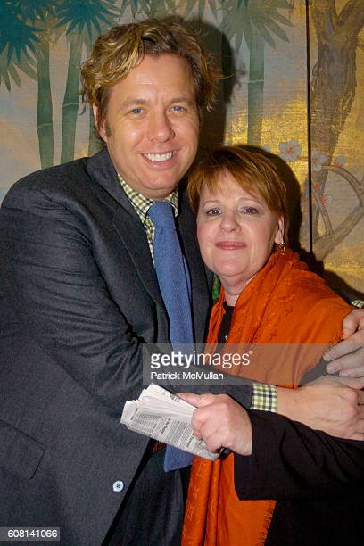 Michael S Smith and Jacqui Farina attend MICHAEL S SMITH AGRARIA COLLECTION LAUNCH at Lowell Hotel on April 18 2007