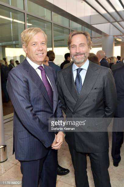 Michael S. Smith and James Costos attend The J. Paul Getty Medal Dinner 2019 at The Getty Center on September 16, 2019 in Los Angeles, California.