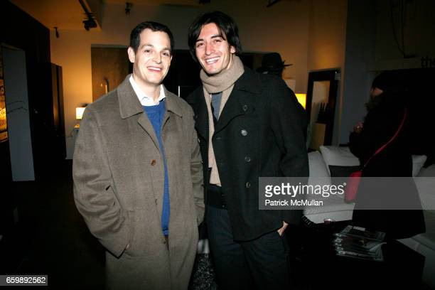 Michael Sachs and Joel Satos attend 7th Annual BoCONCEPT/KOLDESIGN Holiday Party at Bo Concept Madison Ave on December 15 2009 in New York