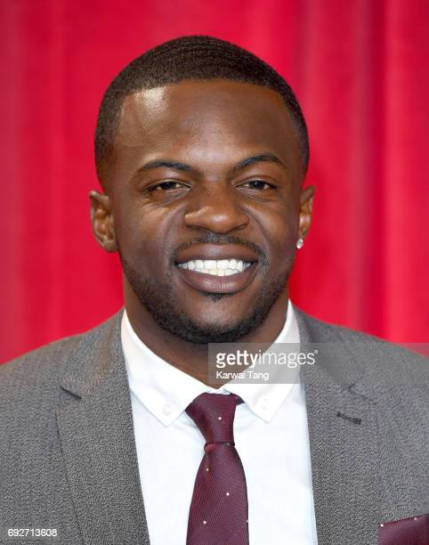 Michael Salami attends the British Soap Awards at The Lowry Theatre on June 3 2017 in Manchester England