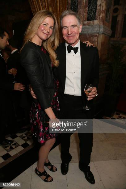 Michael Sarkissian and Mark Johnson attends The Borne Wonderland Gala 2017 at 8 Northumberland Avenue on November 16 2017 in London England