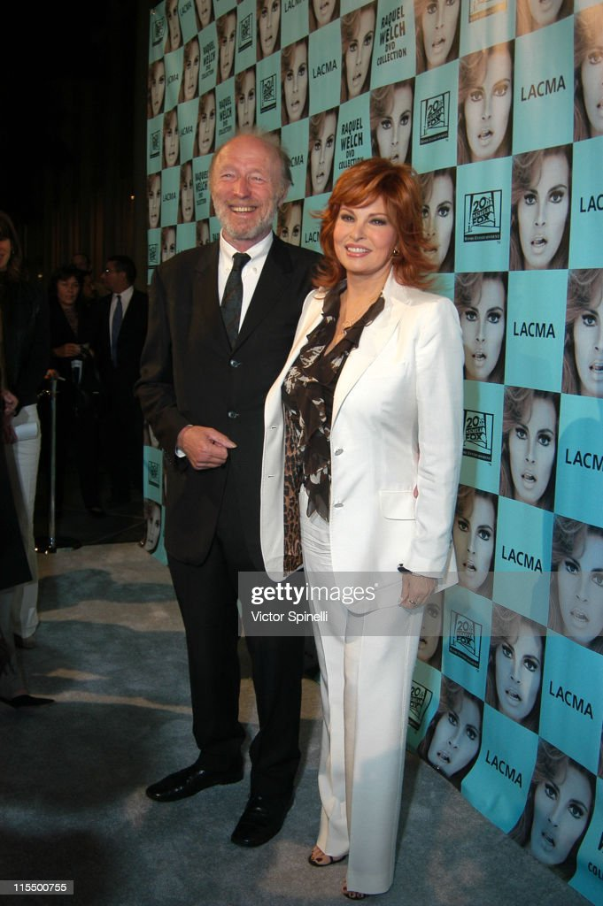 Michael Sarne and Raquel Welch during Opening of the Raquel Welch Film Festival at Los Angeles County Museum of Art. in Los Angeles, California, United States.