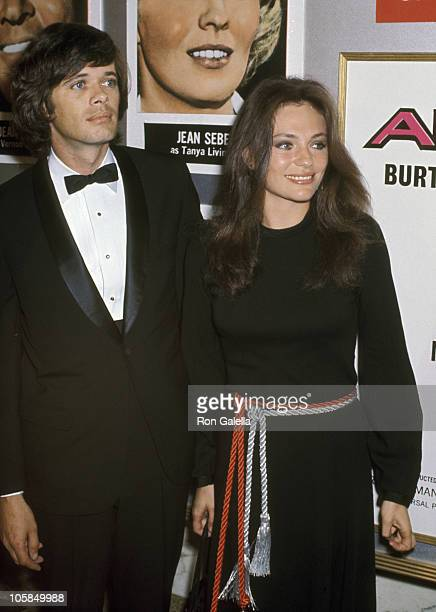 Michael Sarrazin and Jacqueline Bisset during 'Airport' Los Angeles Premiere at Hollywood Pacific Theater in Hollywood California United States