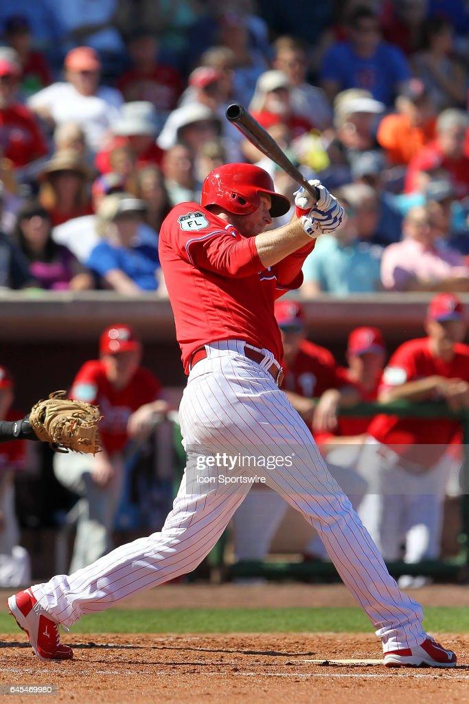 MLB: FEB 25 Spring Training - Yankees at Phillies : News Photo