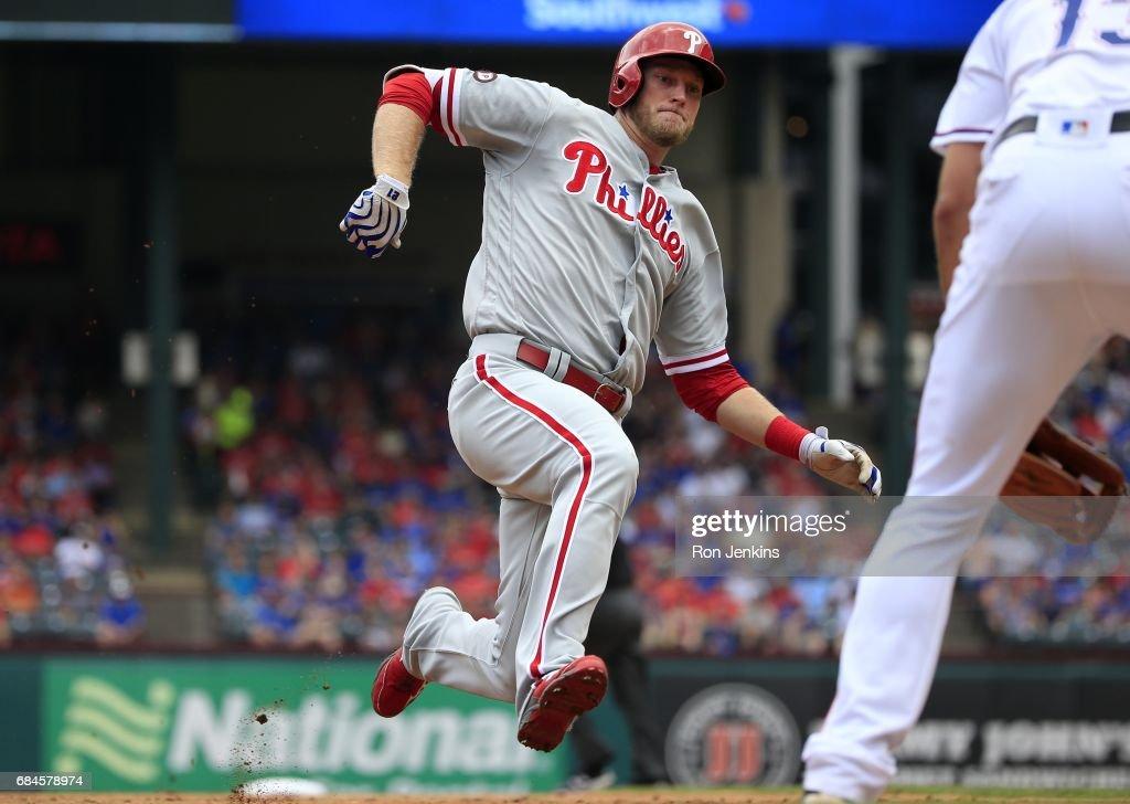 Philadelphia Phillies v Texas Rangers