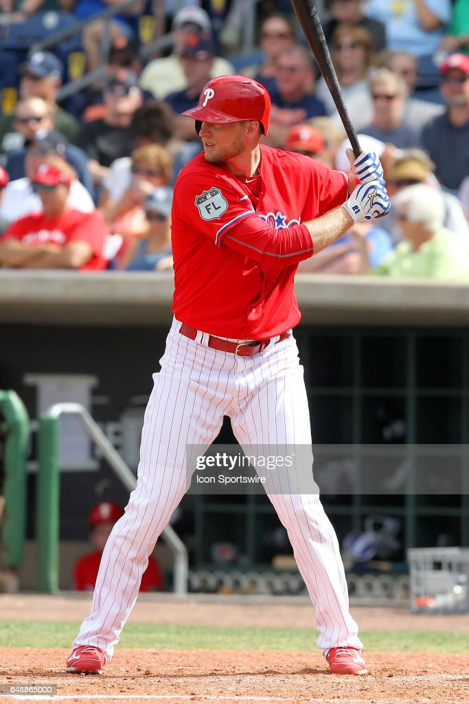MLB: MAR 05 Spring Training - Tigers at Phillies : News Photo