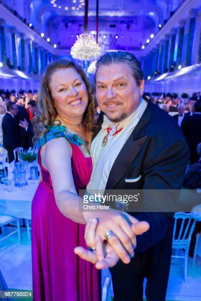 Michael Schade Dee SchadeMcKee during the Fete Imperiale 2018 on June 29 2018 in Vienna Austria