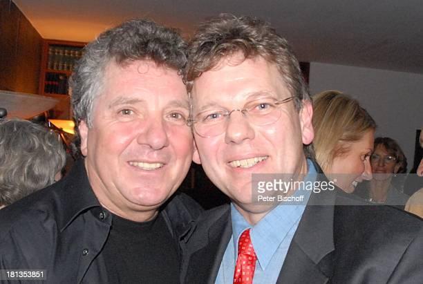 Michael Schanze Bruder Christian Party zum 60 Geburtstag von Michael Schanze München Bayern Deutschland Feier gratulieren umarmen Moderator Familie...