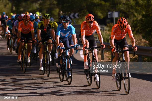 Michael Schär of Switzerland and CCC Team / Alessandro De Marchi of Italy and CCC Team / during the 70th Volta a la Comunitat Valenciana 2019 Stage 3...