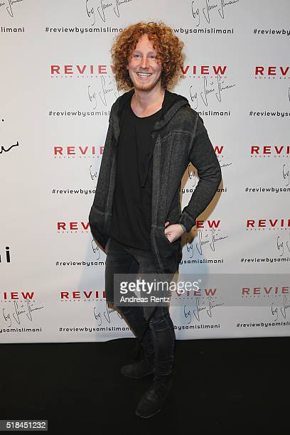 Michael Schulte attends the REVIEW by Sami Slimani Capsule Collection launch party on March 31 2016 in Duesseldorf Germany