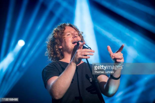 Michael Schulte performs at folk festival 'Hessentag 2019' on June 10 2019 in Bad Hersfeld Germany