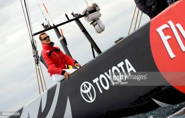Michael SCHUMACHER - - Emiraters Team New Zealand - Round Robin 2 - Louis Vuitton Cup - Valence,