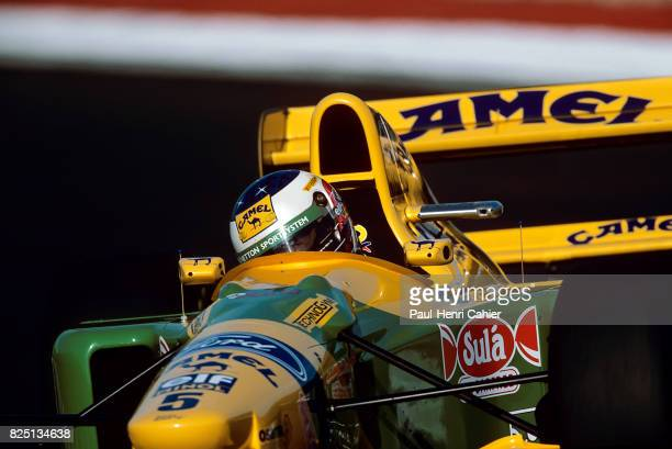 Michael Schumacher BenettonFord B193 Grand Prix of Portugal Estoril 26 September 1993