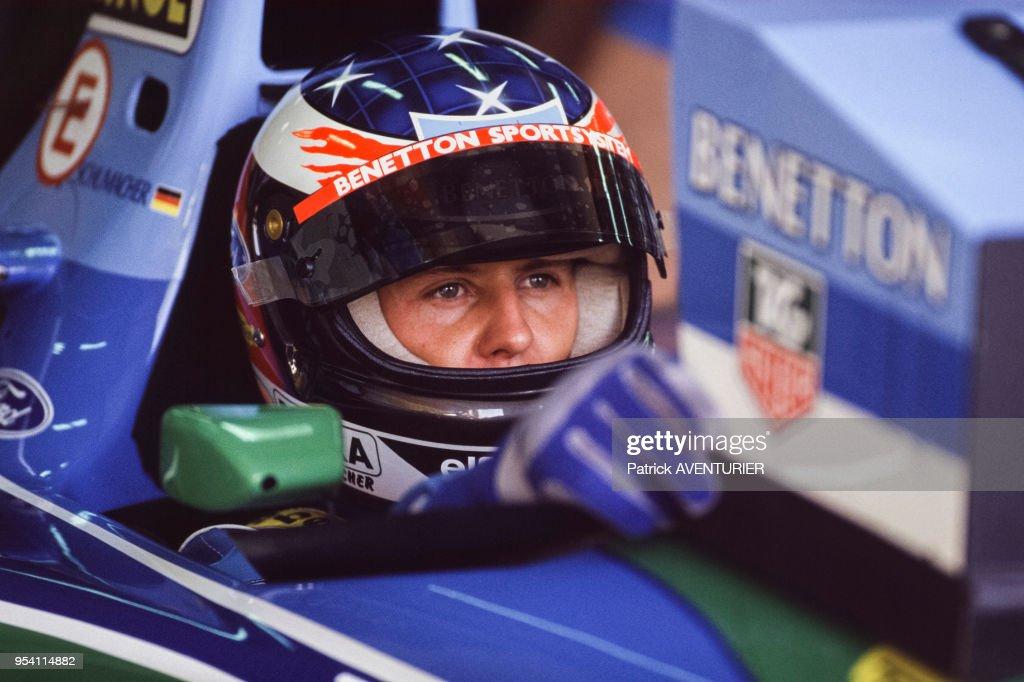 Michael Schumacher Au Volant De Sa F1 News Photo