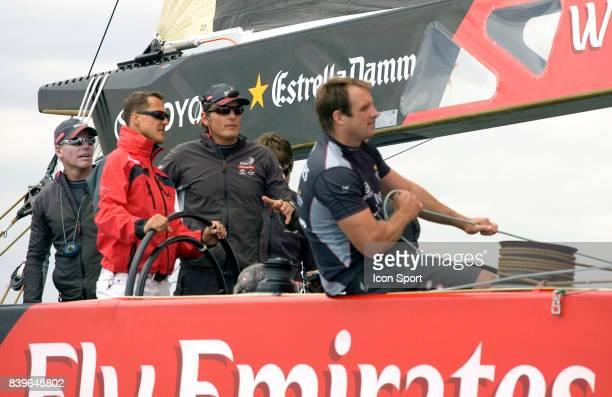 Michael SCHUMACHER / Dean BARKER - - Emiraters Team New Zealand - Round Robin 2 - Louis Vuitton Cup - Valence,
