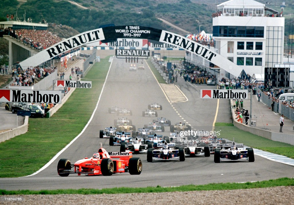 Grand Prix of Europe : News Photo