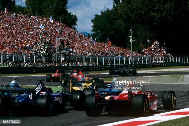 Michael Schumacher Eddie Irvine Jean Alesi Ralf Schumacher Alexander Wurz Giancarlo Fisichella Olivier Panis Jacques Villeneuve Grand Prix of Italy...