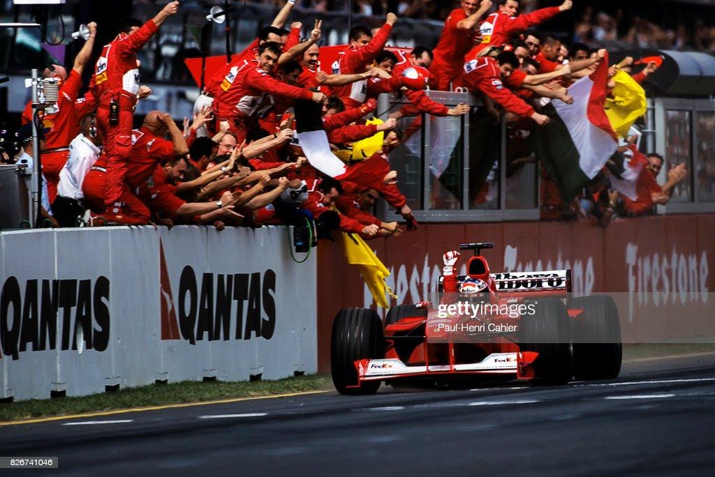 Michael Schumacher, Grand Prix Of Australia : News Photo