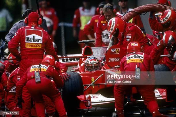 Michael Schumacher Ferrari F12000 Grand Prix of Brazil Interlagos 26 March 2000