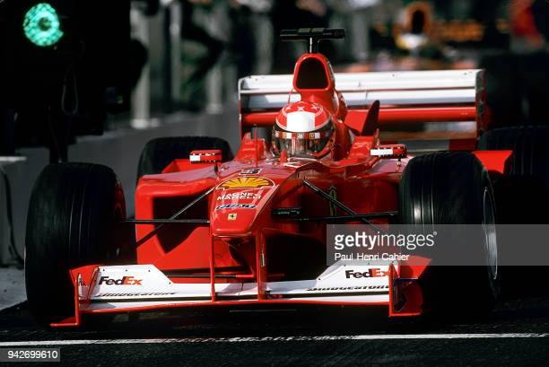 Michael Schumacher Ferrari F12000 Grand Prix of France Circuit de Nevers MagnyCours 02 July 2000