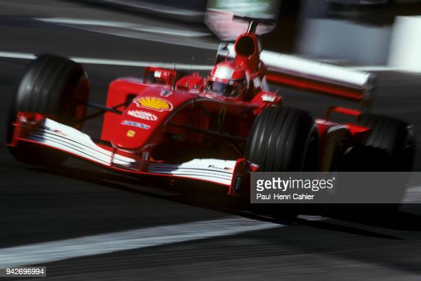 Michael Schumacher Ferrari F2001 Grand Prix of France Circuit de Nevers MagnyCours 01 July 2001 Victory for Michael Schumacher in the 2001 French...